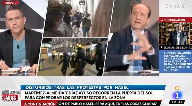 Captura del programa de TVE 'Las Cosas