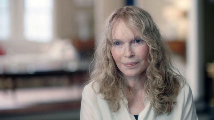 "Mia Farrow in ""Allen v. Farrow."""