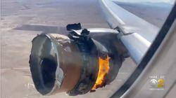 Passenger Plane Engine Fails With Debris Narrowly Missing Homes