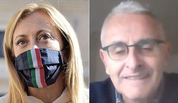 Insulti a Meloni: si dimette Raffaele Palumbo, direttore di Controradio