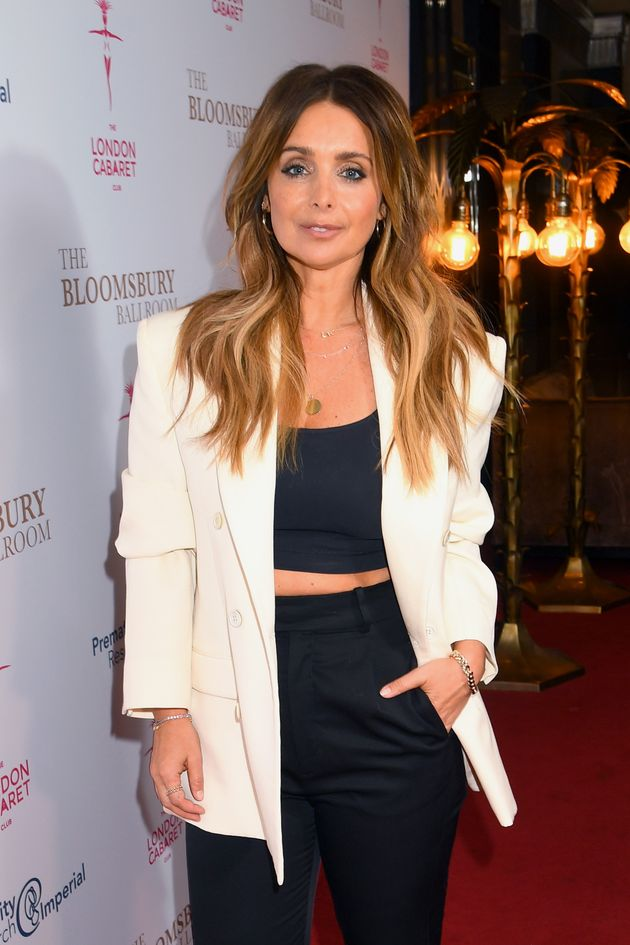 Louise Redknapp pictured in January