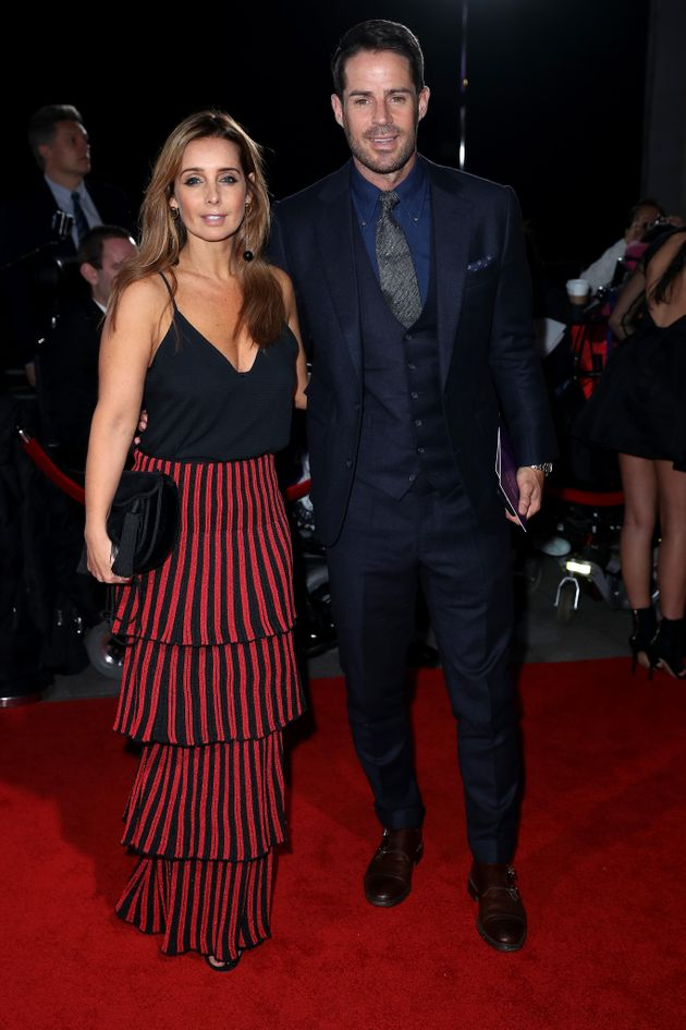 Louise and Jamie during their last public appearance together in October