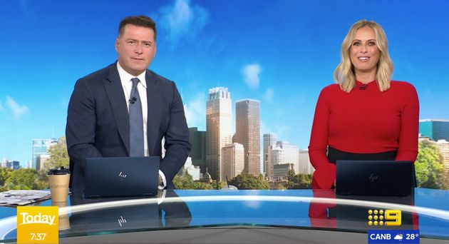 'Today' show hosts Karl Stefanovic and Sylvia Jeffreys speak about community uncertainty around the COVID-19...