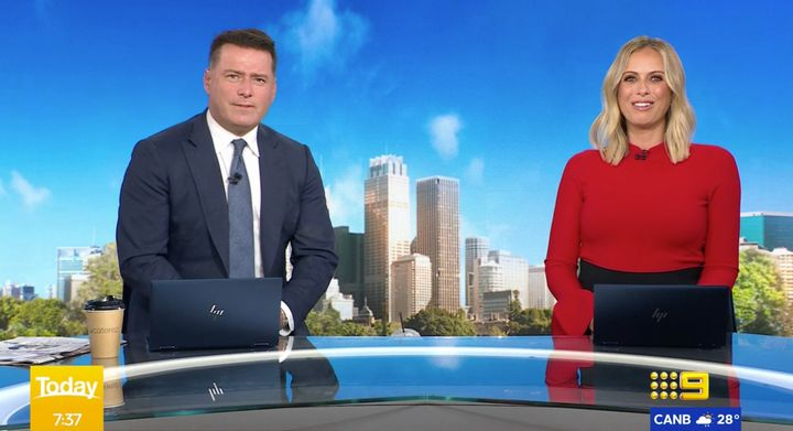 'Today' show hosts Karl Stefanovic and Sylvia Jeffreys speak about community uncertainty around the COVID-19 vaccine in Australia.