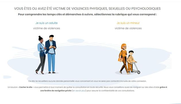 Un site parcours-victimes.fr pour accompagner les victimes de