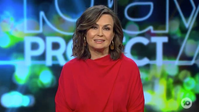 Lisa Wilkinson calls out Scott Morrison on 'The Sunday Project'.