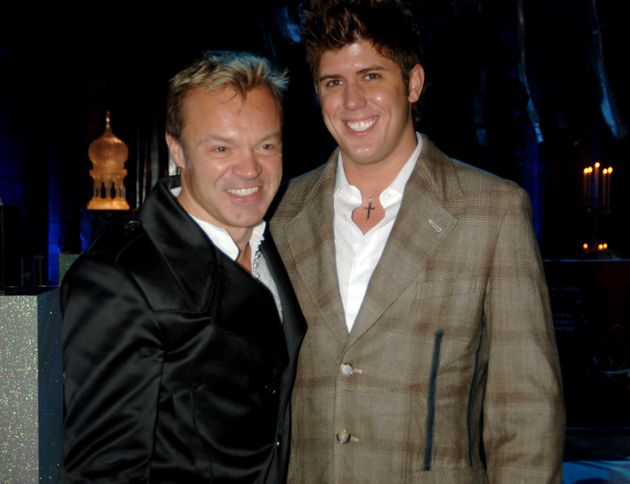 Graham Norton and Kristian Seeber