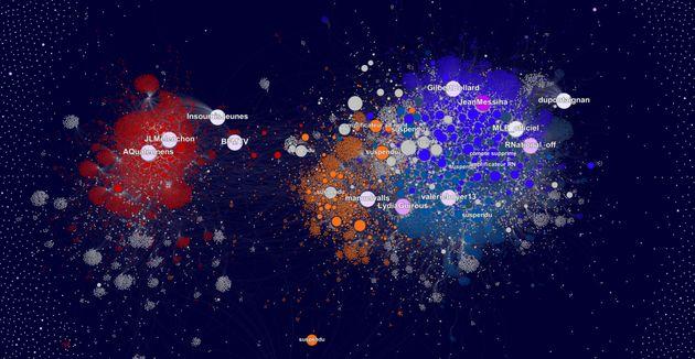 Cartographie des tweets mentionnant