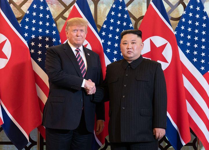 Le sommet entre Donald Trump et Kim Jong-un ne s'était pas conclu par un accord lors de leur rencontre en 2019.
