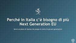 È il momento di realizzare un Next Generation EU italiano (di A.