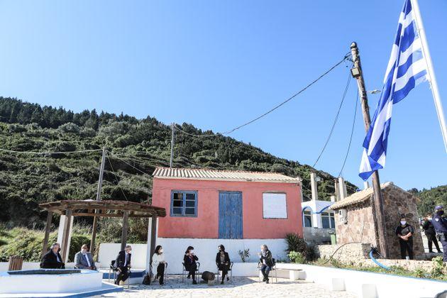 Επίσκεψη της Προέδρου της Δημοκρατίας Κατερίνας Σακελλαροπούλου στην Ερείκουσα και στο