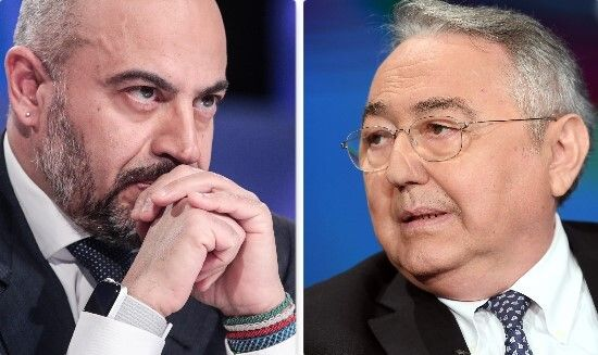 Gianluigi Paragone ed Emilio