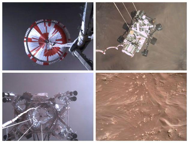 NASA: Στη δημοσιότητα το συναρπαστικό βίντεο από την προσεδάφιση του Perseverance στον