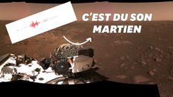 La Nasa diffuse pour la première fois le son de Mars,