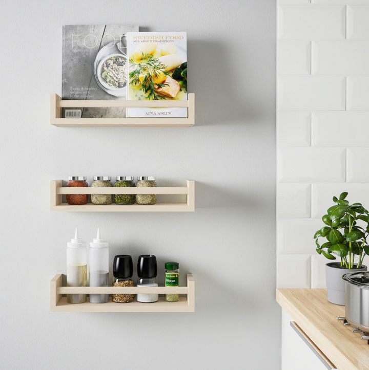 With a little imagination, the BEKVÄM spice rack can be a lot more than a spice rack.