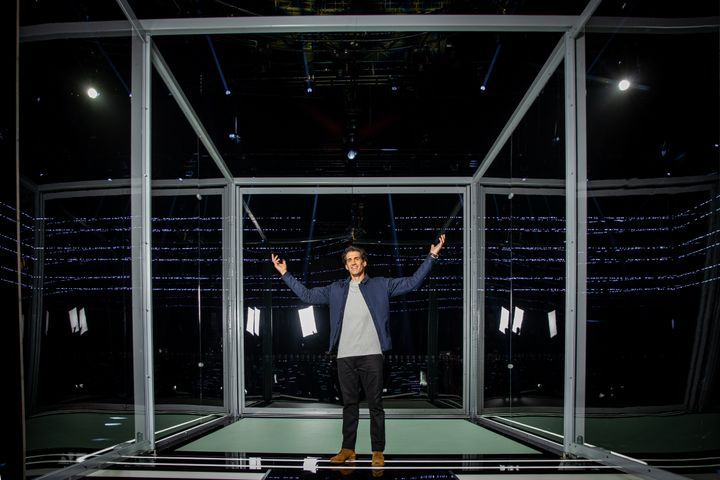 Andy Lee is the host of Australia's new reality TV show 'The Cube'.