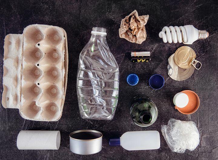 각종 재활용 폐기물