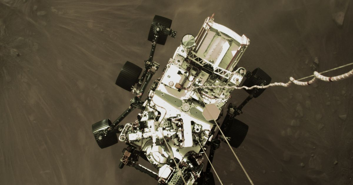 Nasa's Perseverance Rover Releases Incredible 'Front-Row Seat' Video Of Mars Landing