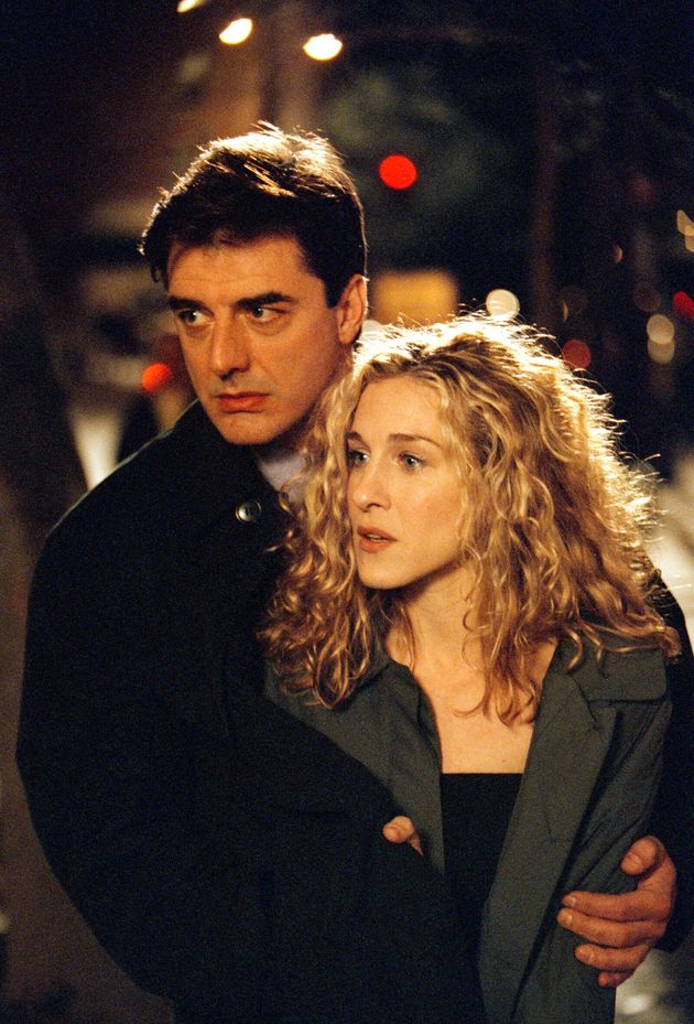 Chris Noth and Sarah Jessica Parker in Sex And The
