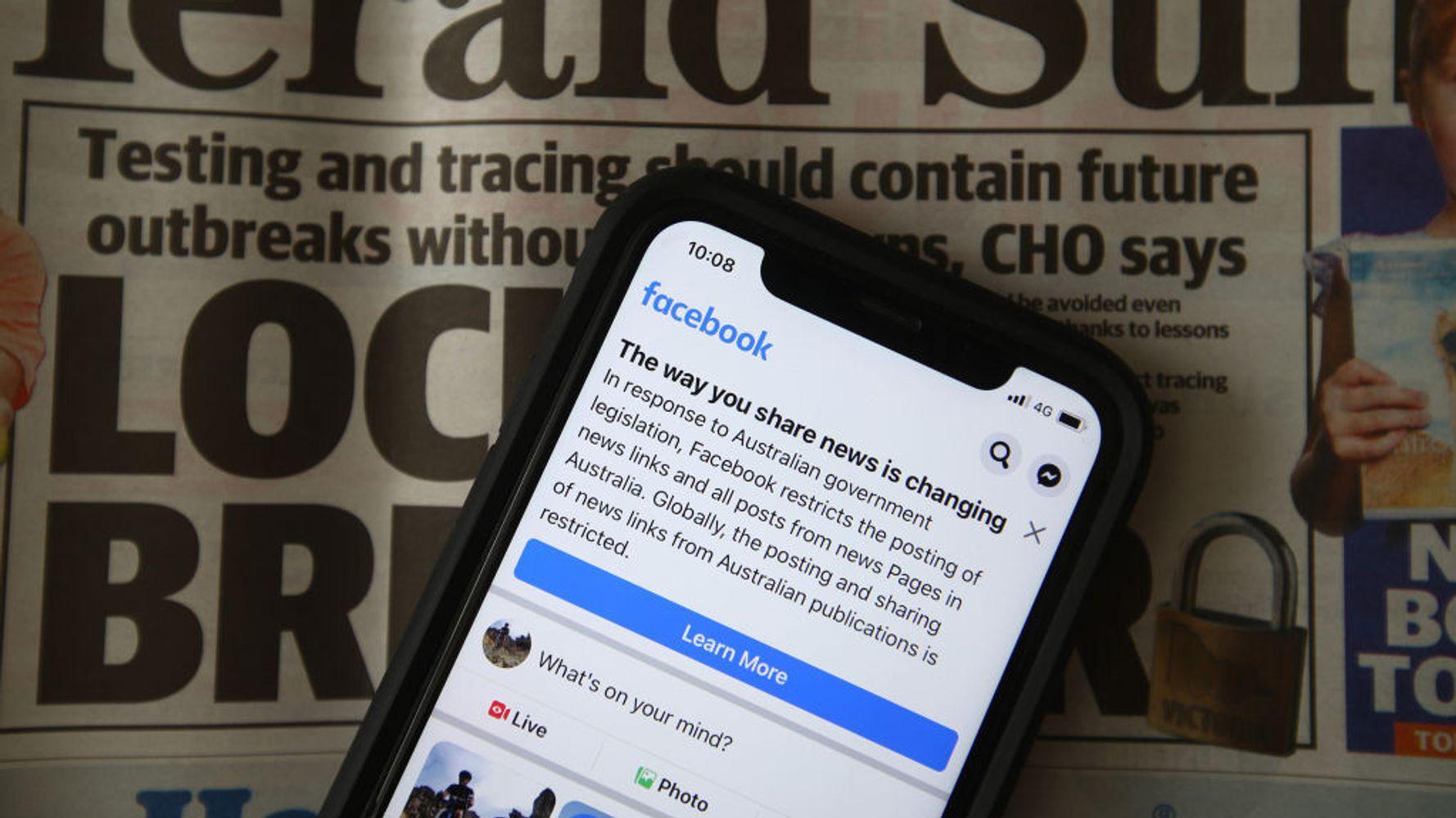 Facebook Says It Will Lift Australian News Ban Soon