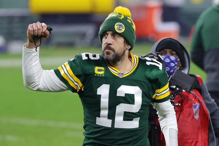 Green Bay Packers quarterback Aaron Rodgers was voted the NFL'sMost Valuable Playerfor the 2020 season.