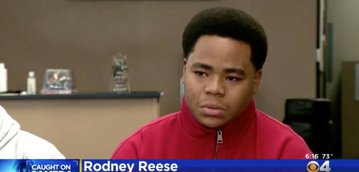Rodney Reese, 18, was arrested after he was seen walking home during a snowstorm. He believes the call that brought offi
