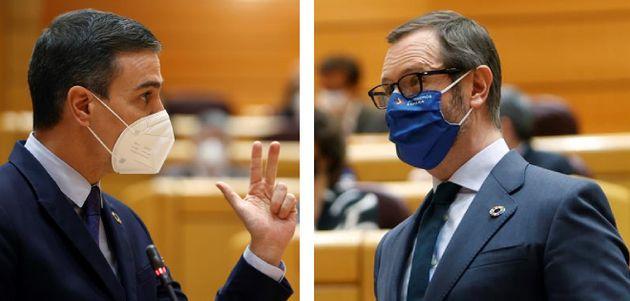 Sánchez y Maroto, en el Senado este