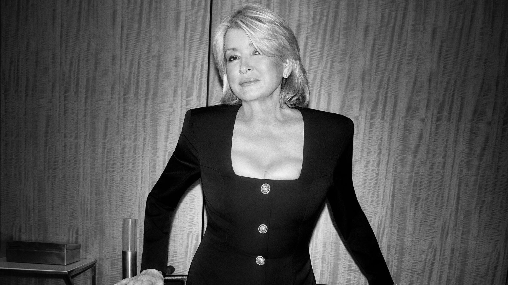 Martha Stewart Reinvents Herself Again In Latest Harper's Bazaar - HuffPost