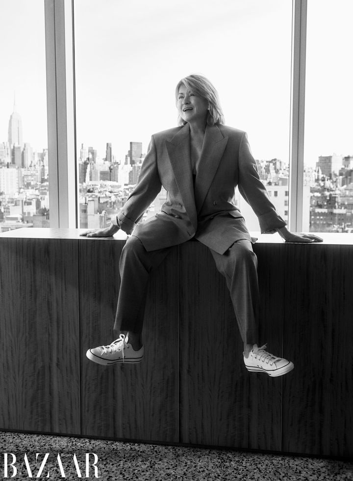 Martha Stewart reinvents herself again in the latest Harper's Bazaar