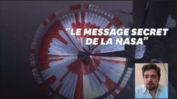 Il y avait un message caché sur Perseverance et c'est un Français qui l'a