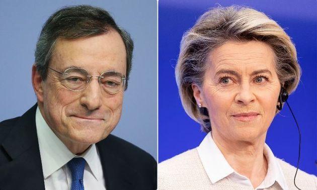 Mario Draghi e Ursula von der