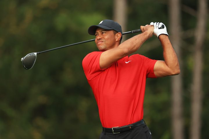 Golfing legend Tiger Woods has been hospitalised with injuries following a car collision in Los Angeles.