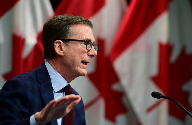 Bank of Canada governor Tiff Macklem takes part in a news conference in Ottawa, Tues. Dec. 15,