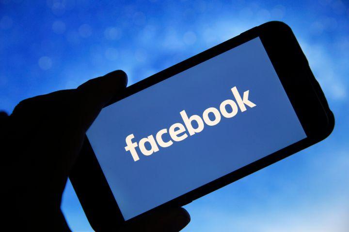 An illustration of the Facebook logo.