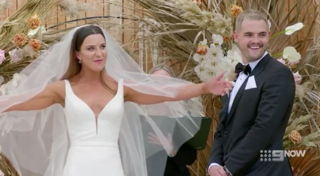 Sam and Coco's wedding on 'Married At First Sight'