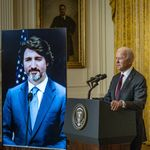 Trudeau Salutes 'Sorely Missed' U.S. Leadership In 1st Meeting With