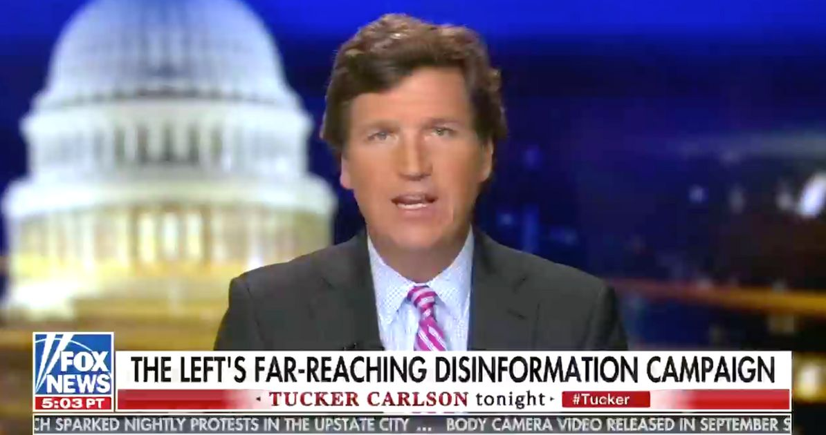 Fox News Host Suggests QAnon Doesn't Exist Because He Can't Find Its Website