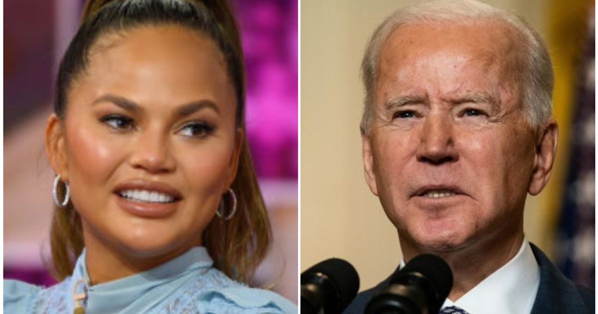 Chrissy Teigen's Response To Being Unfollowed On Twitter By Joe Biden Is Delightfully NSFW
