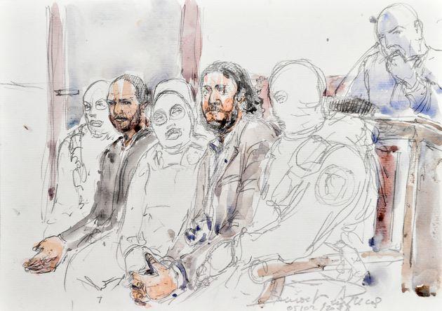 20 personnes sont sur le banc des accusés pour le procès des attentats du 13-Novembre,...