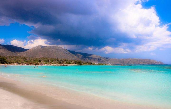 Παραλία Ελαφονήσι, Ελαφονήσι Κρήτης