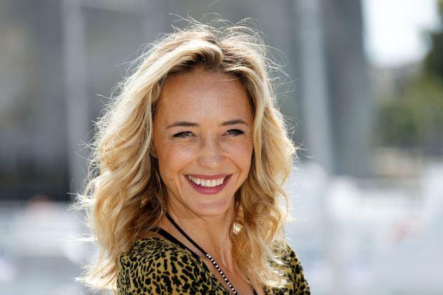 Hélène de Fougerolles lors du 20ème festival de la télévision le 14...