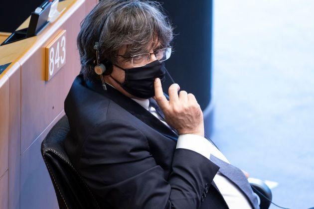 Carles Puigdemont, el pasado julio, en el