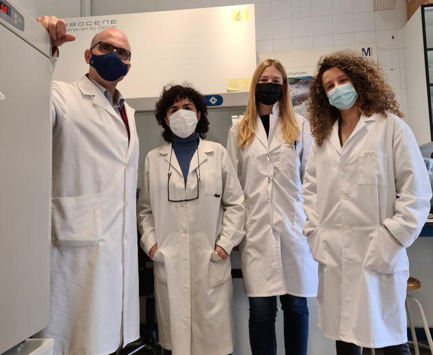 De izquierda a derecha: José Antonio López, Raquel Bello-Morales, Sabina Andreu e Inés