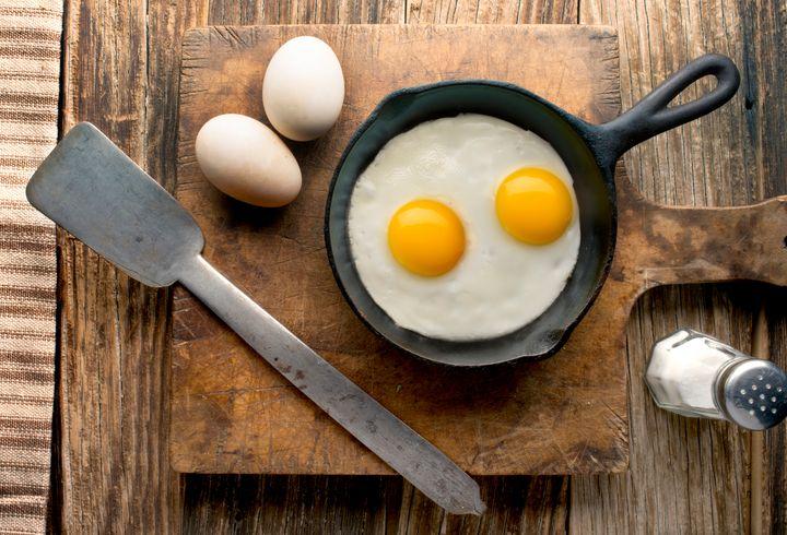 Τηγανητά αυγά