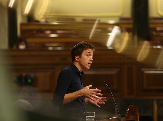 Íñigo Errejón, en el Congreso, en una imagen de