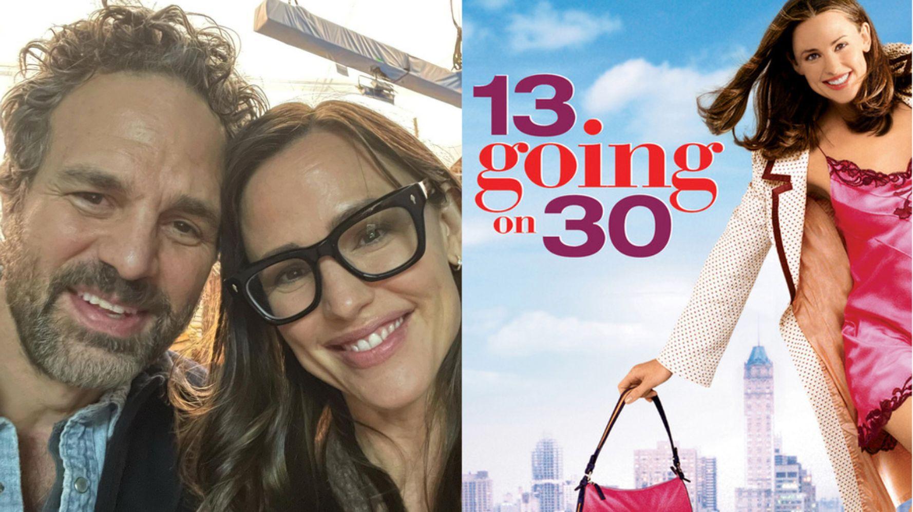 www.huffpost.com: Jennifer Garner And Mark Ruffalo Reunite And Fans Demand A '13 Going On 30' Sequel