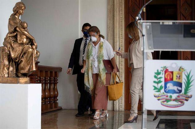 The EU Ambassador to Venezuela, Isabel Brilhante, is retiring from the Venezuelan Foreign Ministry ...