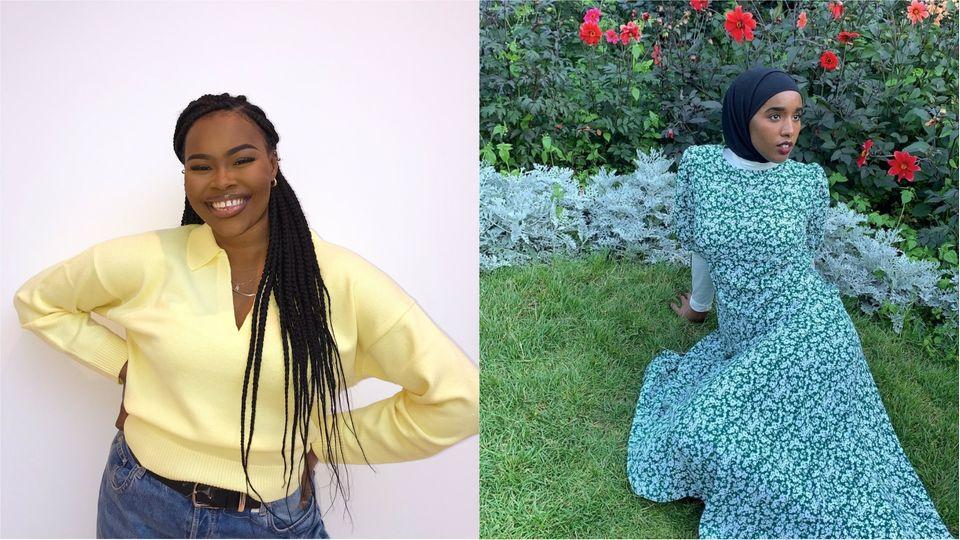 (L-R)Nikki Onafuye andLuela