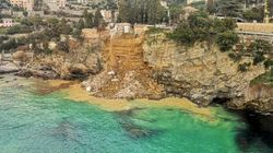 Italian Graveyard Crumbles Off Cliff, Sending 200 Coffins Into