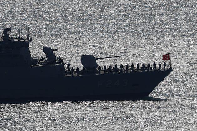 Φωτογραφία αρχείου: Σκάφος του τουρκικού πολεμικού